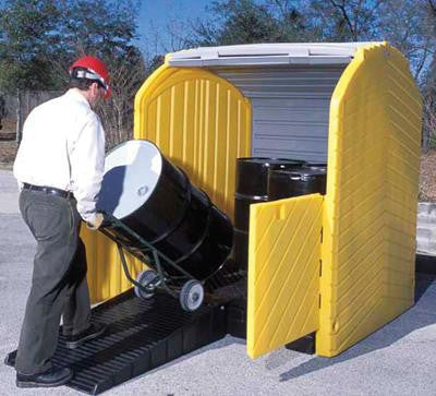 "UltraTech Polyethylene Loading Ramps Fits 67 1/4"" Wide Supports Up To 75 Gallons"