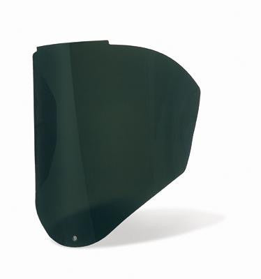 Uvex Bionic Infra-dura Green Shade 5 Uncoated Polycarbonate Visor