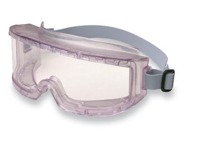 Uvex 9301 Futura Indirect Vent Goggles With Clear Sports Style Wraparound Frame, Clear Uvextreme Lens And Neoprene Headband