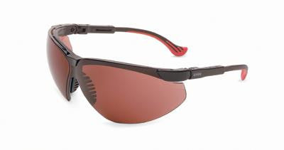 Uvex By Sperian Genesis XC Safety Glasses With Black Frame And SCT-Gray Polycarbonate Uvextreme Anti-Fog Lens