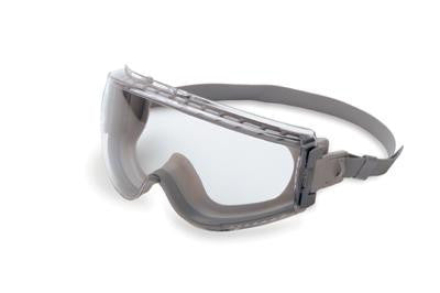 Uvex Stealth Chemical Splash Impact Goggles With Gray Frame, Clear Uvextreme Anti-Fog Lens And Neoprene Headband (50 Per Case)