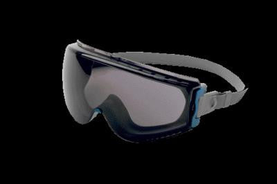 Uvex Stealth Chemical Splash Impact Goggles With Teal And Gray Frame, Gray Uvextreme Anti-Fog Lens And Neoprene Headband