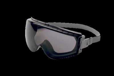 Uvex Stealth Chemical Splash Impact Goggles With Gray Frame, Gray Uvextreme Anti-Fog Lens And Neoprene Headband