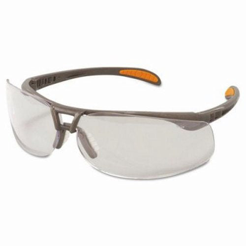 Uvex By Sperian Protege Safety Glasses With Sandstone Frame And Clear Polycarbonate Ultra-dura Anti-Scratch Hard Coat Lens