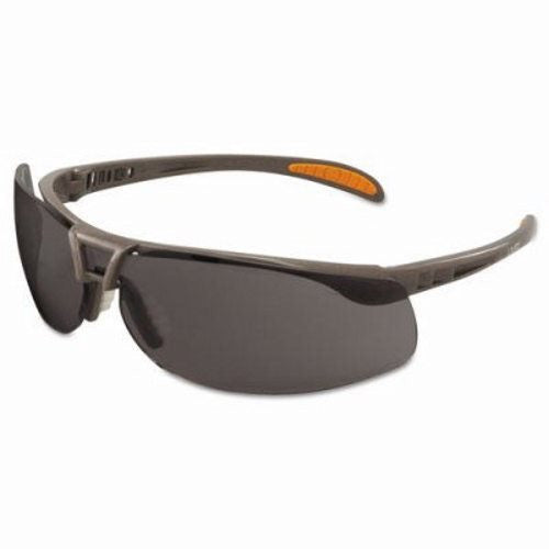 Uvex By Sperian Protege Safety Glasses With Sandstone Frame And Gray Polycarbonate Ultra-dura Anti-Scratch Hard Coat Lens