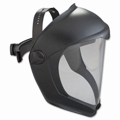 Uvex Bionic Black Matte Dual Position Headgear With Clear Anit-Fog Hardcoatd Polycarbonate Faceshield And Built-In Chin Guard