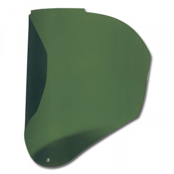Uvex Bionic Infra-dura Green Shade 3 Uncoated Polycarbonate Visor