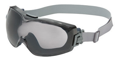 Uvex Stealth OTG Over The Glasses Goggles With Navy Frame, Standard Gray Dura-streme Anti-Fog Anti-Scratch Lens With Neoprene Headband