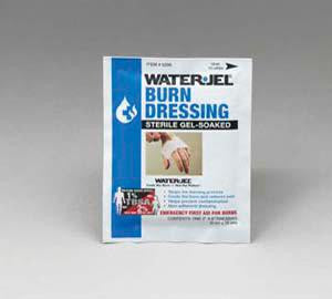 "Water-Jel Technologies 4"" X 16"" Foil Pack Sterile Gel-Soaked Burn Dressing"