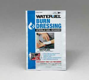 "Water-Jel Technologies 2"" X 6"" Foil Pack Sterile Gel-Soaked Burn Dressing"