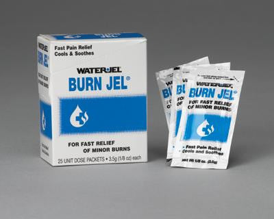 Water-Jel Technologies 3.5 Gram Unit Dose Packet Burn Jel Topical Gel (25 Per Box)