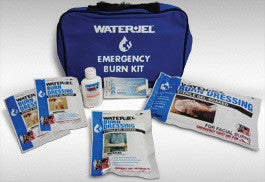 Water-Jel Technologies Small Soft-Sided Burn Kit With Heavy-Duty Nylon Carry Bag