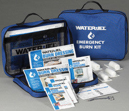 Water-Jel Technologies Large Soft-Sided Burn Kit  With Fire Blanket  And Heavy-Duty Nylon Carry Bag