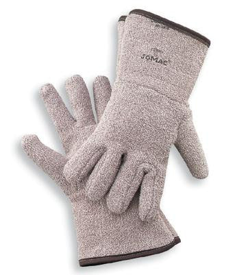 "Wells Lamont X-Large Brown Jomac Extra Heavy Weight Terry Cloth Unlined Reversible Ambidextrous Heat Resistant Gloves With 4 1/2"" Gauntlet Cuff"