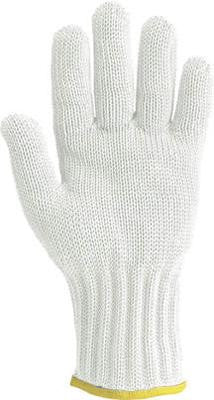 Wells Lamont Medium White Whizard Handguard II Heavy Duty High Performance Fiber And Stainless Steel Ambidextrous Cut Resistant Gloves