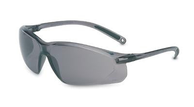 Sperian A700 Series Safety Glasses With Gray Frame And Gray Polycarbonate TSR Anti-Scratch Hard Coat Lens
