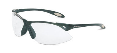 Sperian A900 Series Safety Glasses With Black Frame And Clear Polycarbonate Anti-Scratch Hard Coat Lens