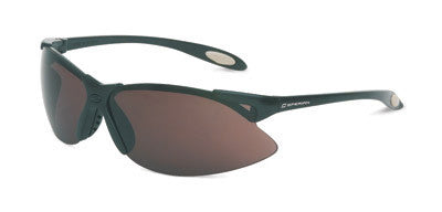 Sperian A900 Series Safety Glasses With Black Frame And Gray Polycarbonate Anti-Scratch Hard Coat Lens