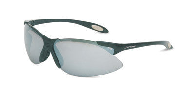 Sperian A900 Series Safety Glasses With Black Frame And Silver Polycarbonate Anti-Scratch Hard Coat Mirror Lens
