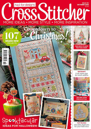 MY INTERVIEW IN CROSS STITCHER MAGAZINE!