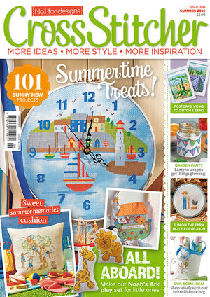 CROSS STITCHER MAGAZINE FEATURE