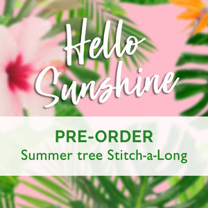 5 Reasons to Join the Hello Sunshine Stitch-a-Long!