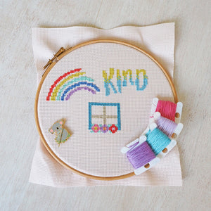POSITIVITY RULES STITCH-A-LONG 2020 - THE DETAILS!