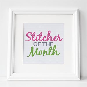 CROSS STITCHER OF THE MONTH 2019