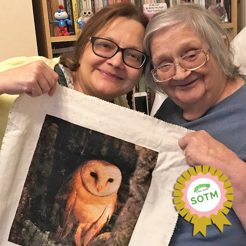 cross stitch winner