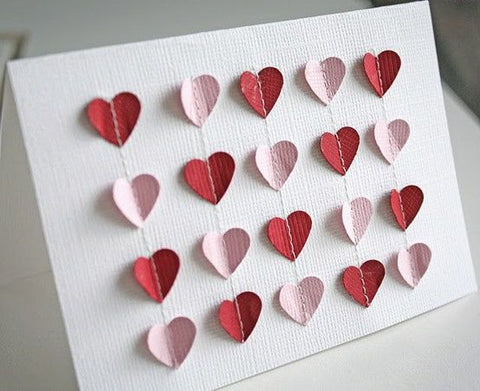 Valentines Crafts Gifts Cards Cross Stitch Love Pattern Free