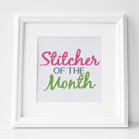 cross stitcher of the month