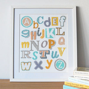 baby cross stitch alphabet