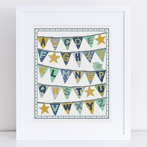 baby bunting cross stitch