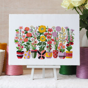 Bloom and Grow - Cross Stitch Kit and Pattern