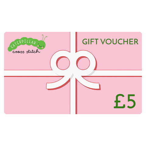 Gift Voucher - Caterpillar Cross Stitch