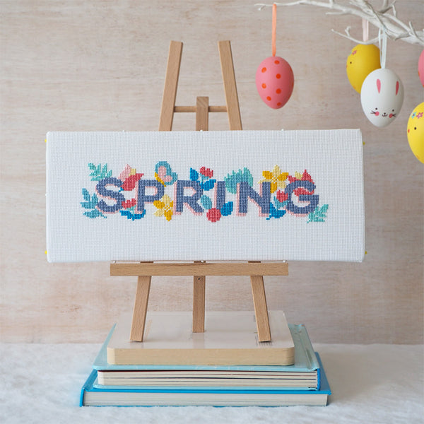 Spring Life - Cross Stitch Kit and Pattern