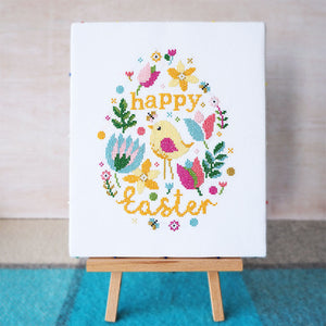 easter cross stitch kit