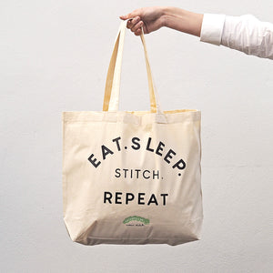 Caterpillar Tote Bag - Eat Sleep Stitch