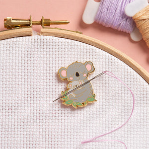 Magnetic Needle Minder - Koala