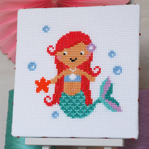 Splash Mermaid - Junior Cross Stitch Kit