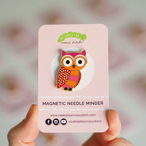 Magnetic Needle Minder - Owl
