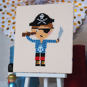 Ahoy Pirate - Junior Cross Stitch Kit