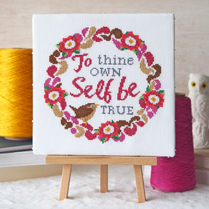 shakespeare cross stitch pattern