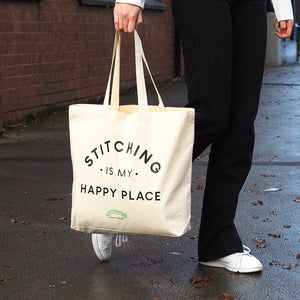 Caterpillar Tote Bag - Happy Place