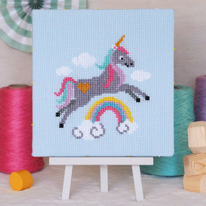 Sparkle Unicorn - Junior Cross Stitch Kit