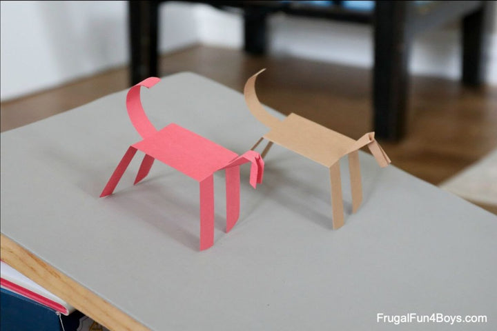 Cabin Fever Craft: Paper Horses