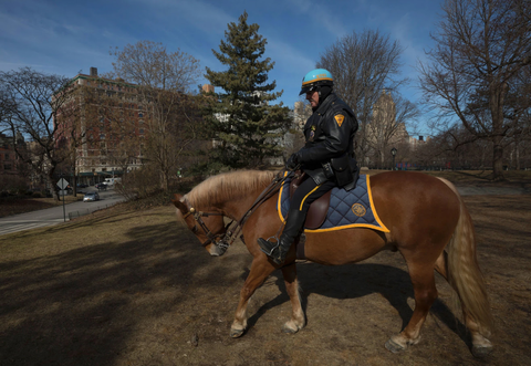 Central Park Mounted Cop Retires
