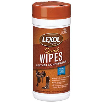 Lexol Leather Conditioner Wipes-Leather Care-Lexol-Manhattan Saddlery