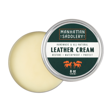 Manhattan Saddlery Leather Conditioner-Leather Care-Manhattan Saddlery House Label-Manhattan Saddlery