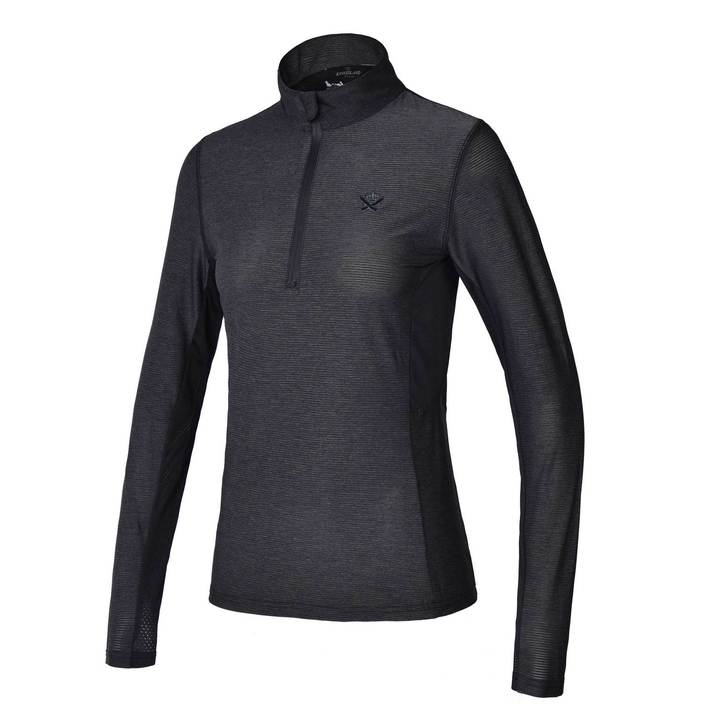 Kingsland Serenity Training Shirt-Sportswear - Ladies - Tops-Kingsland-Charcoal-XXS-Manhattan Saddlery
